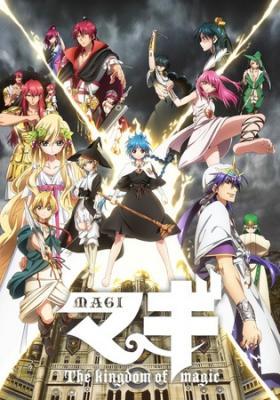 Magi: The Kingdom of Magic – Todos os Episódios