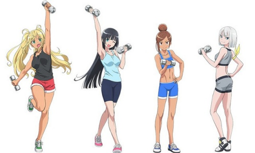 Dumbbell Nan Kilo Moteru? Episodio 01